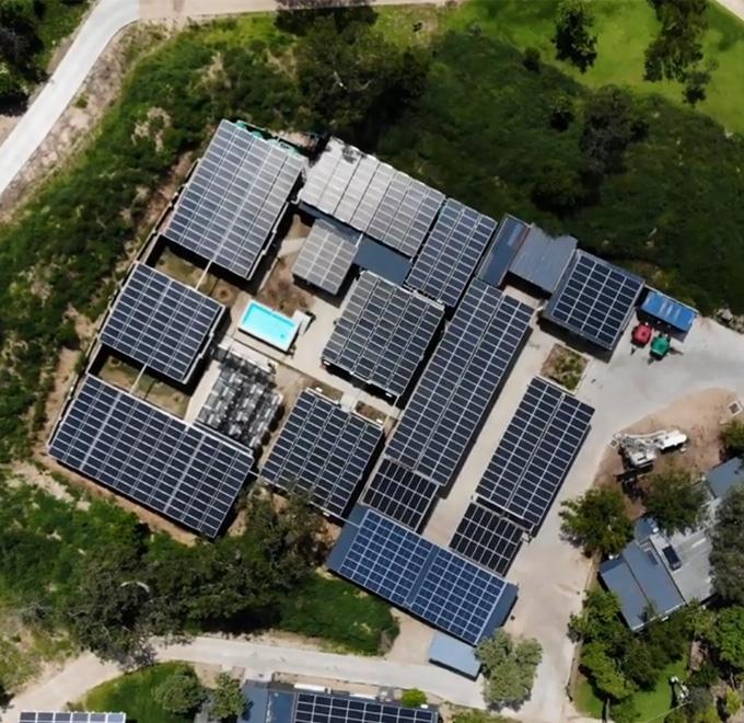 Cheetah Plains Solar Solution - Aerial View